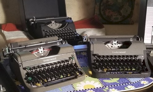 Early Post War Underwood Typewriters